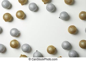 jul, text, bakgrund, klumpa ihop sig, utrymme, komposition, vit
