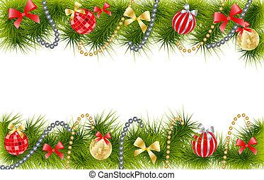 jul träd utsmyckning