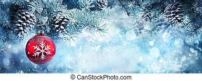 jul utsmyckning, baner