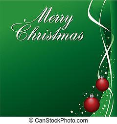 jul, vektor, bakgrund