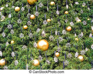 julgran, bakgrund
