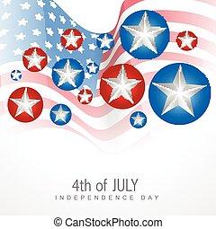 juli 4, dag, onafhankelijkheid