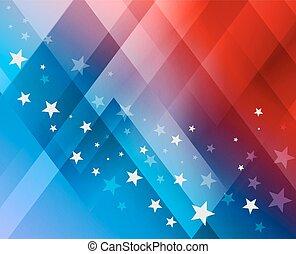 juli, fireworks, bakgrund, 4