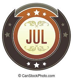 juli, knap, kejserlige