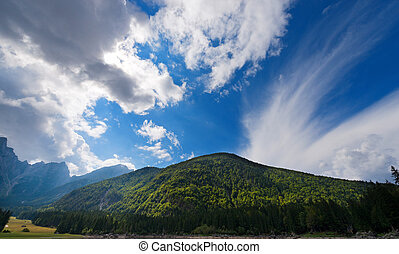 Julian Alps - Mount Mangart Friuli Italy - The Julian Alps....