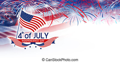 julio, 4, día de independencia