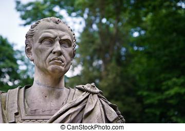 Julius Caesar Portrait - Bust of Roman Dictator - The XIX...