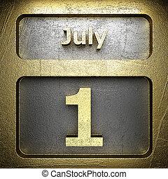 july 1 golden sign