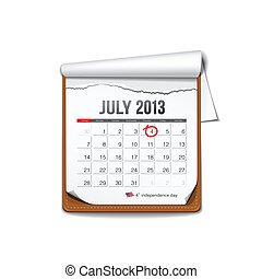 July 2013 American independence day