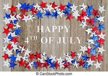 july 4, üzenet, boldog