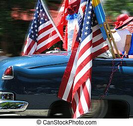 flags an girls