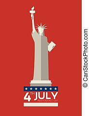 July 4 th Independence Day Statue of Liberty USA