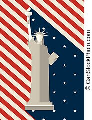 July 4 th, Independence Day, Statue of Liberty USA - Statue...