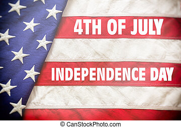 July 4th, Independence day of US America concept