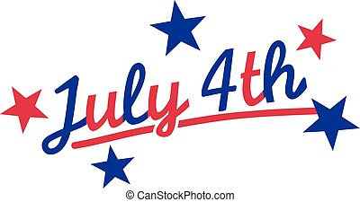 July 4th - independence day usa
