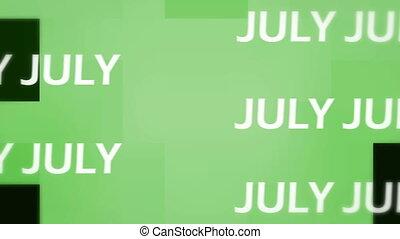 July animation