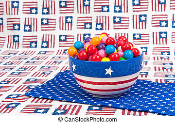 July Fourth Gumballs