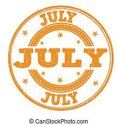 July stamp