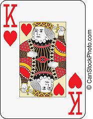 Jumbo index king of hearts
