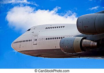 Jumbo Jet Airliner
