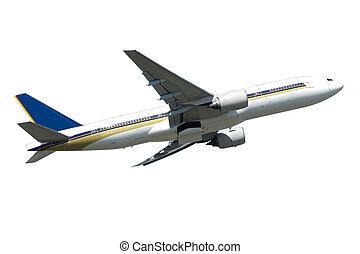 Jumbo plane