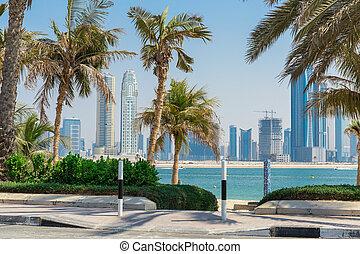 jumeirah , παραλία , πάρκο , μέσα , dubai