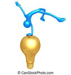 Jump For Joy Idea - 3D Concept And Presentation Figure