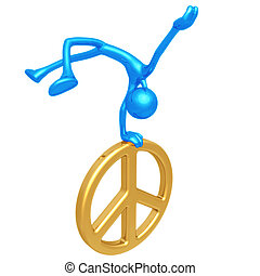 Jump For Joy Peace