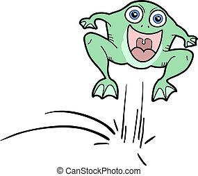 Jump frog