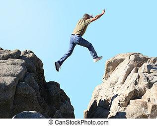 Jump - Man jumping