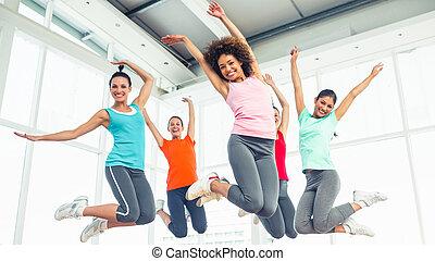 jumpin, istruttore, classe salute