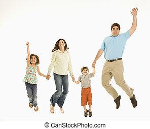 jumping., 家族