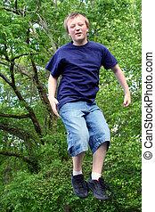 Jumping Boy 1