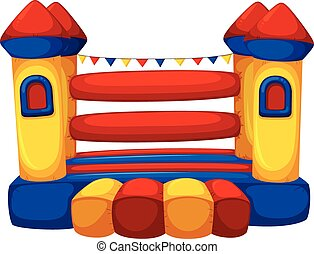 Jumping castle with no children