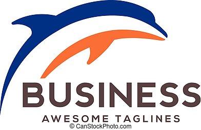 jumping dolphin logo
