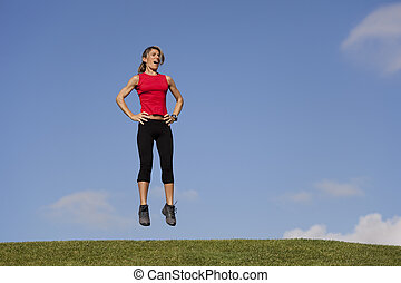 Jumping exercise