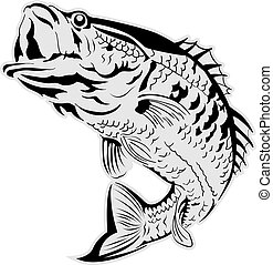Jumping Fish Clipart Vector Graphics 3619 EPS Clip