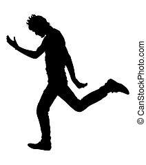 Jumping Man Shape