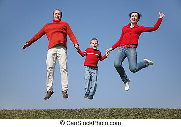 jumping spring family