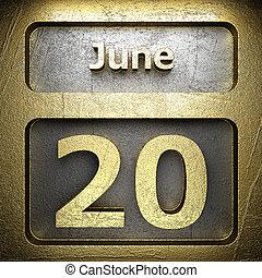 june 20 golden sign