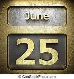 june 25 golden sign