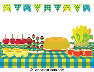 June feast - Brazilian food for Junina party