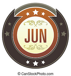 June imperial button