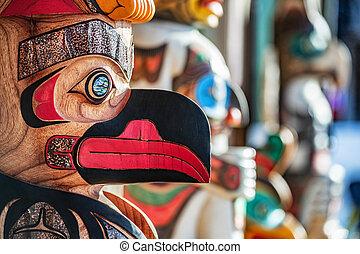 juneau, alaska, art., pinturas, tiendas, escultura, ...