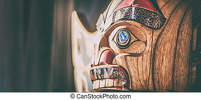 juneau, alaska, tiendas, escultura, crucero, bandera, ketchikan, venta, paintings., skagway, arte, sculture, tiendas, poste, viaje, nativo, tótem, tienda, turista, panorámico, fondo.