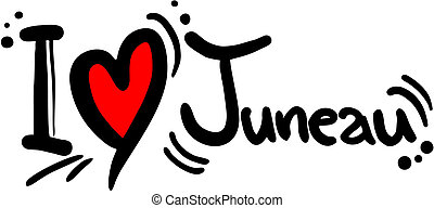 Juneau love - Creative design of juneau love
