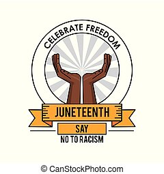 Juneteenth Clip Art - Royalty Free - GoGraph