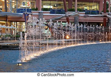 jungceylon, patong, inköp, 26:, underhållning, strand, -, springbrunnar, 26, april, galleria, thailand., störst, thailand, patong., phuket, 2012