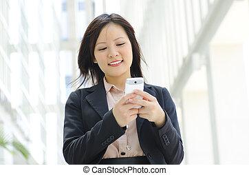 junge exekutive, texting