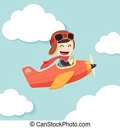 junge, pilot
